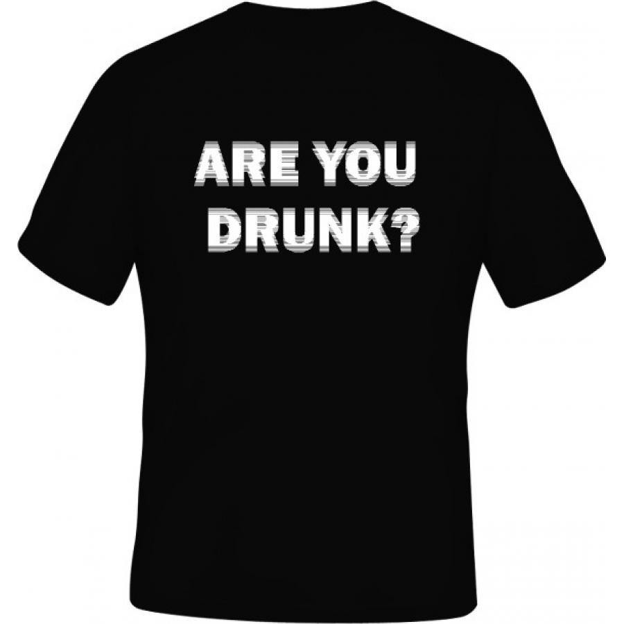 Černé tričko nejen pro opilce  a484e7082e