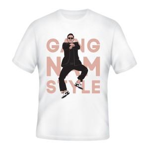 Tričko Gangnam Style - černé